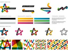 Mall of America Logo and Identity