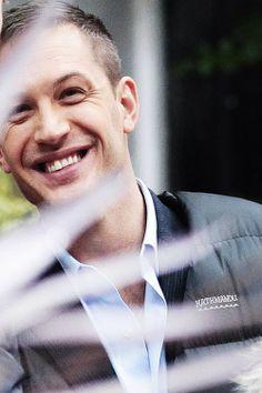 Tom Hardy smile