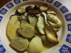 Boletus (ceps) con mantequilla – PALEOGOURMETE French Toast, Paleo, Potatoes, Vegetables, Breakfast, Vegetarian, Food, Arrows, Butter