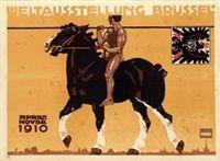 Weltausstellung Brüssel von Ludwig Hohlwein