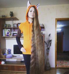 """""""#Дашик #лисичка #веснушка #рыжик #волосы #longhair #hair #лиса #оченьДлинныеВолосы"""""""