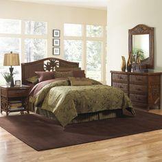 Cancun Palm Panel 4 Piece Bedroom Set Size: Queen - http://delanico.com/bedroom-sets/cancun-palm-panel-4-piece-bedroom-set-size-queen-589438385/