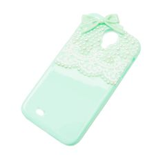 Pearls and Lace Cover for Samsung Galaxy S4 | Claire's