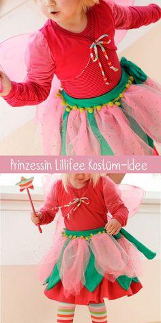 Prinzessin Lillifee Kostüm selbtgenäht – Kostümidee mit Schnittmustern und eigenen Ideen. #nähen #nähenfürkinder #karnevalskostüme Beautiful Soup, Up Costumes, Carnival, Couture, Sewing, Skirts, Baby, Colorful, Portrait