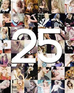 HAPPY 25th BIRTHDAY TAYLOR!!!! I love you I love you I love you forever. <3 Swiftie since '08