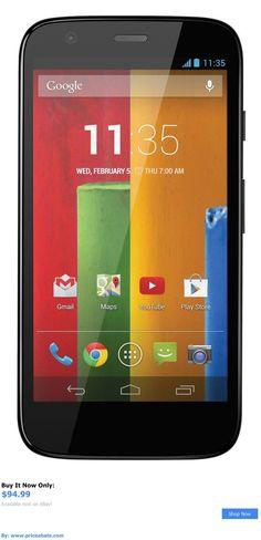 cell phones: Brand New!! Motorola Moto G - 16Gb - Gsm Black (Unlocked) Smartphone Xt1034 BUY IT NOW ONLY: $94.99 #priceabatecellphones OR #priceabate
