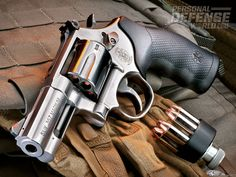 Smith & Wesson's Model 686 Plus Revolver : The Distinguished Combat .357 Mag, now with a 3-inch barrel and seven shots! http://ow.ly/i/7xgFv  #revolver