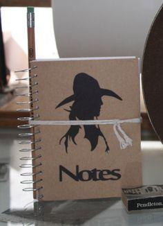Cowgirl Notes & Pencil Set. $9.95, via Etsy.