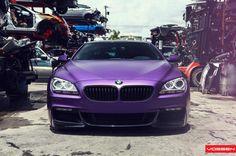 Garagesocial - #purple #bmw #6series #beamer