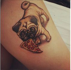 This is just one of the many dog tattoos done by Myke Maldonado. #InkedMagazine…