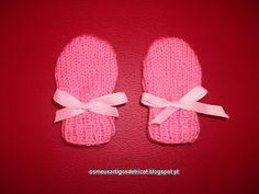 Os meus artigos de tricot (e desabafos de mãe): PAP: As luvas da Diana