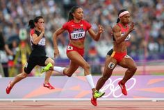 Allyson Felix-- one of the fastest women on earth-- INSPIRATION! INDOOR TRACK!