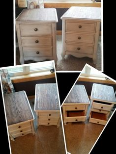 Refinished night stands