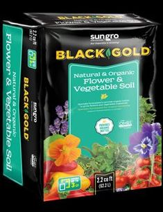Boost the performance of your flower beds and vegetable gardens with Black Gold Flower and Vegetable Soil. It has everything garden plants need to perform their best, whether they are planted in-ground or in containers. Trust your prized flowers and vegetables with this exceptional potting soil. Garden Soil, Garden Plants, Vegetable Gardening, Container Vegetables, Peat Moss, Types Of Soil, Plant Needs, Potting Soil