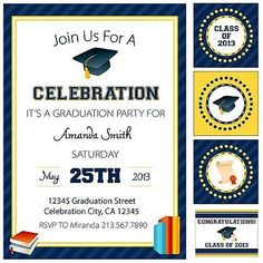Graduation Party Ideas and FREE Printables | Spoonful