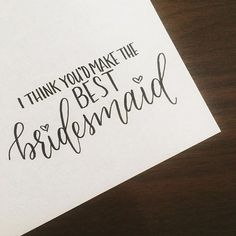 Bringing in a new bridesmaid card in the shop soon. Until then, check out what's on sale in my shop now! The link is on my page!  And don't forget to use the coupon code: CHRISTMASCHEER Best Brush Pens, I Shop, Shop Now, Cool Lettering, Learning To Write, Bridesmaid Cards, Don't Forget, Coupon, Bring It On