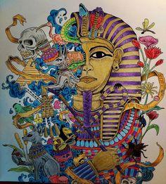 #imagimorphia #kerbyrosanes #arttherapy #coloringbook #color #colouringforadults…