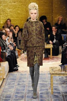 Chanel Pre-Fall 2011 Metiers d'Art Paris Byzance collection #GG Slideshow on Style.com #byzantium