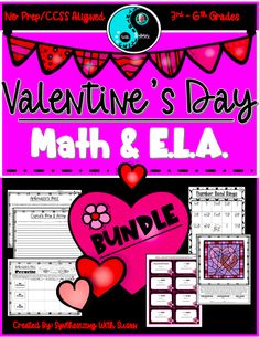 This no prep literacy and math activities bundle will keep your students motivated to work throughout the month of February.