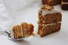 Moist, light, grain free and dairy free carrot cake…finally made possible! Topped and sandwiched with coconut cream, it's a heavenly satisfying slice, a delightful pecan nut crunch, altogether incr…
