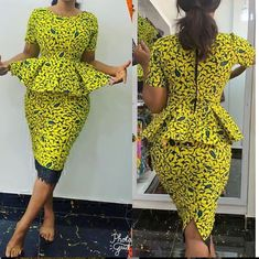 THIS IS GORGEOUS ANKARA WEEKEND Fashion Styles - AnkaraHub.Com Get the Latest ankara styles aso ebi styles, wedding, Ankara dresses, ankara fashion pictures, african fashion styles & casual trends for ladies Short African Dresses, Ankara Short Gown Styles, African Blouses, Latest African Fashion Dresses, African Print Fashion, Ankara Tops Blouses, Short Gowns, Africa Fashion, Ankara Rock