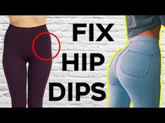 ❤️ How To Get Rid of Hip Dips (Violin Hips) | 4 Workouts For Bigger and Fuller Hips - YouTube