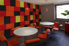 acoustic panels in commercial interiors wall graphics - Google Search
