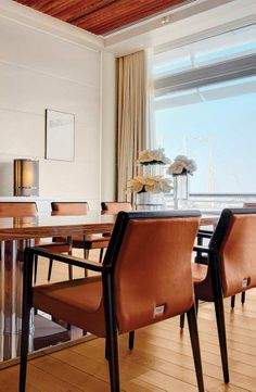 Fendi Casa furnishes the new Monaco Yacht Club #luxury #living #chairs