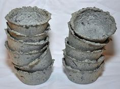 365 Days of DIY: Seed Starters out of Paper Pulp