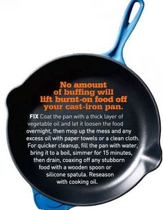 If you& camping with your friends or family, make sure that you get everyone to take part in the preparation of meals is part of Cast iron cleaning - Cast Iron Care, Cast Iron Pot, Cast Iron Dutch Oven, Cast Iron Cookware, It Cast, Le Creuset Cast Iron, Cast Iron Skillet Cooking, Iron Skillet Recipes, Cast Iron Recipes