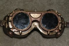 How To Make Your Own Steampunk Goggles - ny Daylina Miller