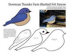 Resultado de imagem para birds applique pattern