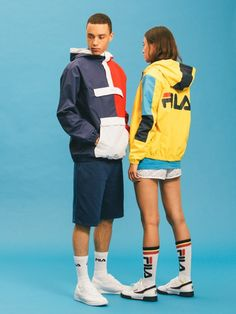 FILA Spring/Summer '16 Preview FILA's usual offering, the Vintage collection…
