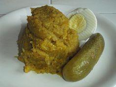 Hrachová kaše s kurkumou a zeleninou French Toast, Breakfast, Food, Turmeric, Meal, Eten, Meals, Morning Breakfast