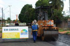 Prefeitura de Boa Vista promove obras de asfalto no bairro São Francisco #pmbv #prefeituraboavista #boavista #roraima #obras