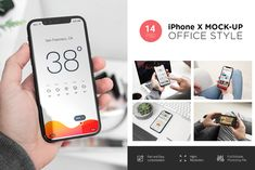 Ad: iPhone X Mock-Up's by Dikarte Media on iPhone X Mock-Up's - 14 PSD Presentations - Real Photos - Standart and Matte Effect for all photos - High Quality Mockups - or Higher - Web Mockup, Mockup Templates, Design Templates, Web Design Mobile, Ipad, Business Illustration, Business Card Logo, Free Design, Ux Design