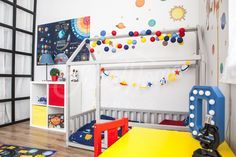 Universe theme boys room ideas, space theme kids room ideas, Frame bed Children bed Play tent House bed Toddler bed Floor bed Baby room nursery crib Home bed Pikler baby bed Teepee montessori toy #toddlerideas