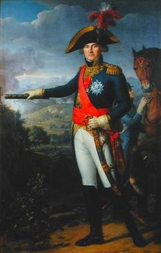 Gen. Jean-Mathieu-Philibert Sérurier (1742-1819) fought in the French Revolutionary Wars in the army of the Alps in 1795 (including Loano), and under Napoleon Bonaparte in the Italian Peninsula in the battles of Vico, Mondovì, Castiglione, and the siege of Mantua.
