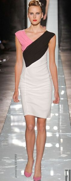 ROCCOBAROCCO  READY-TO-WEAR  SPRING-SUMMER 2014 - I love this dress with the shoes.  Will look for something similar to purchase.