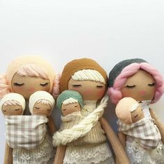 Mend by Ruby Grace Dolls ( Just an hour and a half until the restock! Diy Rag Dolls, Sewing Dolls, Doll Crafts, Sewing Crafts, Sewing Projects, Plush Dolls, Doll Toys, Tilda Toy, Creation Couture