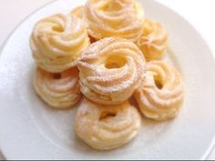 Eclairs, Onion Rings, Sweet Desserts, Appetizers For Party, Deserts, Food And Drink, Favorite Recipes, Dishes, Cookies