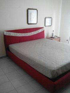 Rivestimento letto in cotone bicolore