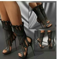 Black Gothic boot!