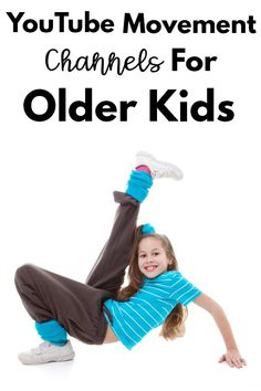 YouTube movement channels for older kids. A list of several great channels that provide movement activities for kids! Movement Activities, Activities For Kids, Move To Learn, Childrens Yoga, Different Exercises, Special Olympics, Video Pink, Brain Breaks, Great Videos