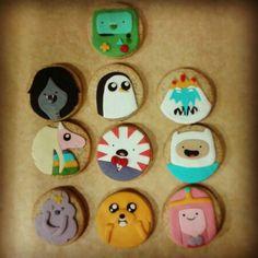 Adventure time cookies