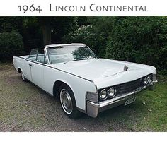 1963 lincoln continental convertible oxford white with. Black Bedroom Furniture Sets. Home Design Ideas