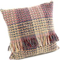 Tweedmill Random All Wool Recycled Celtic Weave Cushion with Pad Tweedmill Textiles of Wales - woven in Denbigh on the edge of the Clwydian mountain