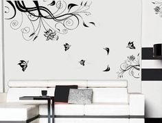 Free Will Large Black Tree Flower Vine Blossom Home Art Vinyl Wall Sticker Free Will http://www.amazon.com/dp/B00KA7I5FK/ref=cm_sw_r_pi_dp_4ghbub10GF724