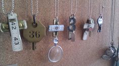 Items Repurposed as Jewelry