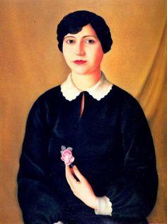 Antonio Donghi, Signorina, 1927